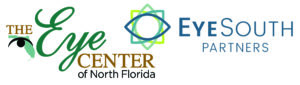 the eye center of north florida and eye south partners graphics