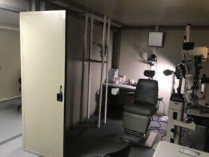 eye center patient room