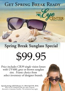 Spring break sunglass special 5x7