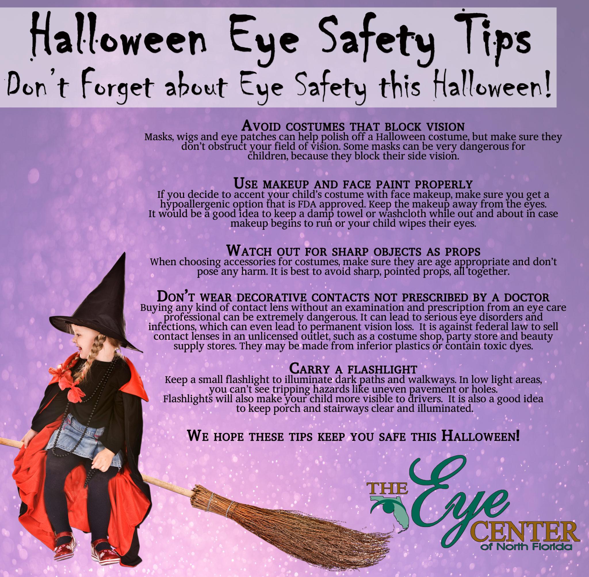 Lasik Eye Center >> Happy Halloween & Eye Safety Tips | The Eye Center of Panama City