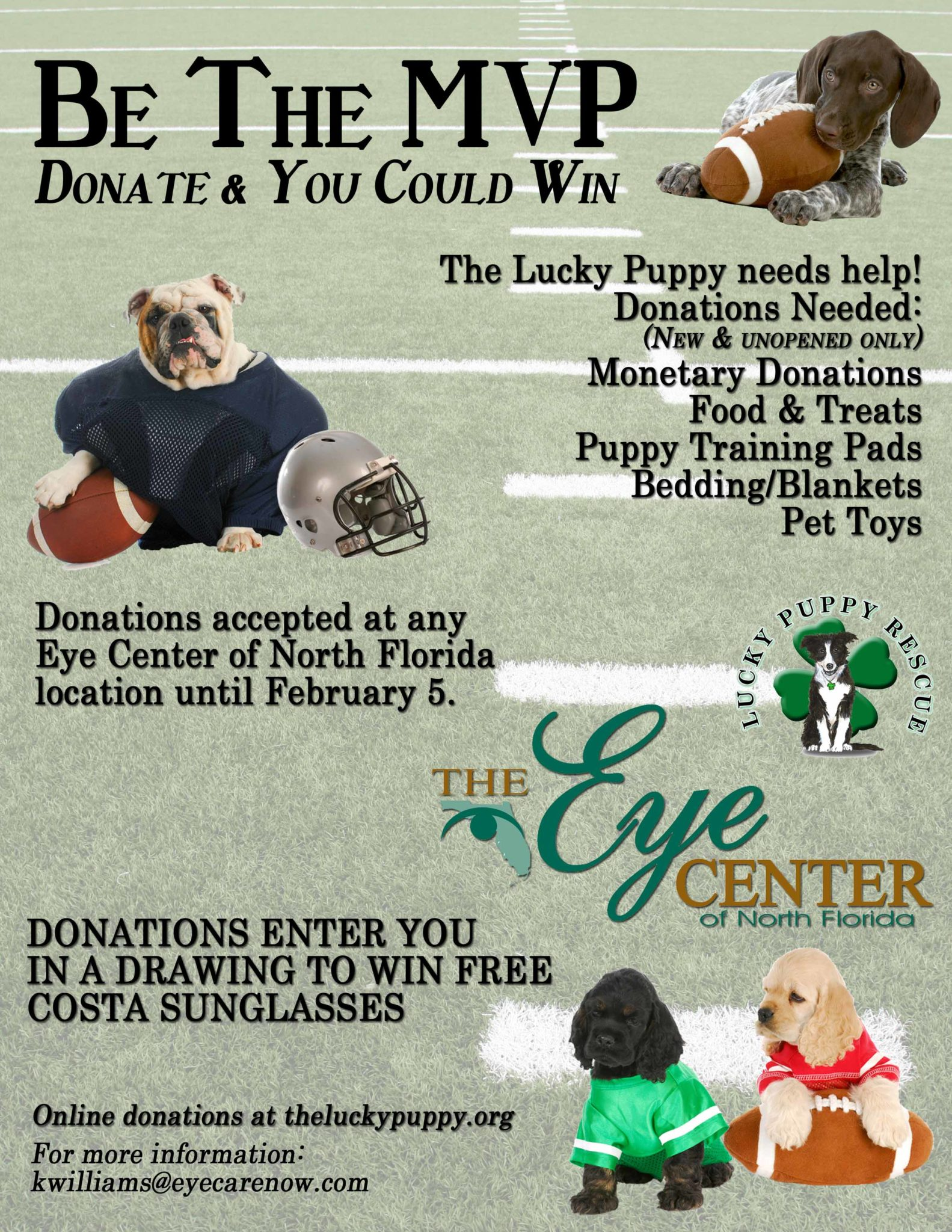 The Lucky Puppy Donation Drive The Eye Center Of Panama City